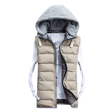 Coletes Masculino Real 2015 New Lover Vest Autumn Winter Vests Men Women High Quality Cotton padded