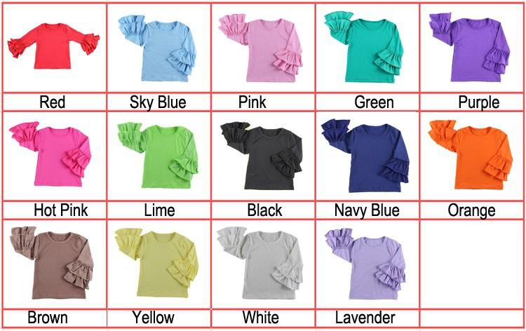 2016 New Real Minecraft Minion Wennikids Solid Cotton Sleeve Ruffle Top,girl T-shirt Children T Shirts Kid Tops Free Shipping  HTB1V2apHVXXXXb2aXXXq6xXFXXXC