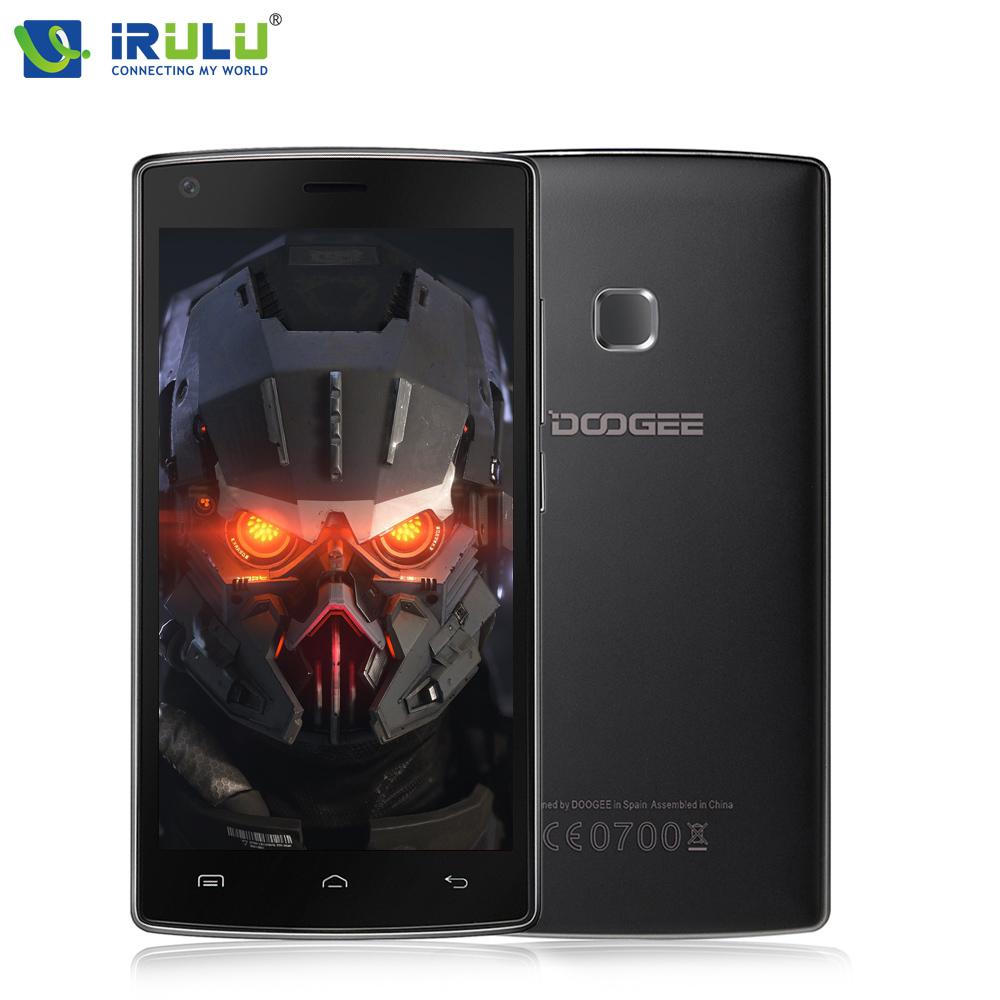 iRULU Doogee X5 Max 4G phone 5.0 inch MTK6580 Quad Core Android 6.0 HD Screen Dual SIM Fingerprint ID 4000mah(China (Mainland))