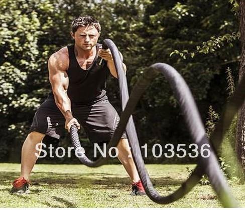 5cm x 12M Professional fitness training rope climbing rope Power MMA Fighting Training Rope