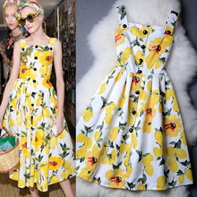 New Arrival High Quality 2016 Summer Dress Fashion Women Dress Long Slim Dress Brand Print Floral Dresses Sundress vestidos(China (Mainland))