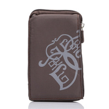 NEW Sports Wallet Mobile Phone Bag Outdoor Army Cover Case For Multi Phone Model Hook Loop Belt Pouch Holster Bag 3 Pocket