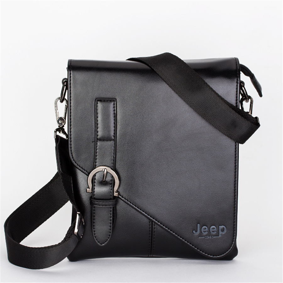 2015 New brand Men's genuine leather messenger bag fashion casual men bags leather briefcase shoulder bags DS-1104