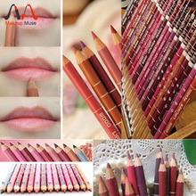 12Pcs/set Per Set Brand New Women's Professional Lipliner Waterproof Lip Liner Pencil 15CM 12 Colors #1003(China (Mainland))