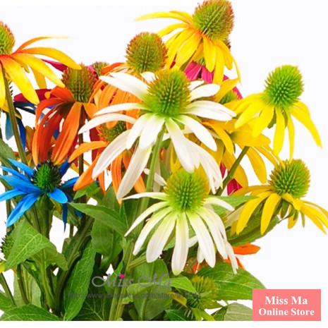5pcs/Lot 4 Heads Daisy Sunflower Artificial Silk Fake Flower Wedding Flower Home Decorative Flower Event Free Shipping(China (Mainland))