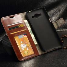 50pcs/lot New Luxury Leather Kickstand Wallet Flip Case Cover for Samsung Galaxy Grand Prime G530 W/ Card Slot Phone Frame
