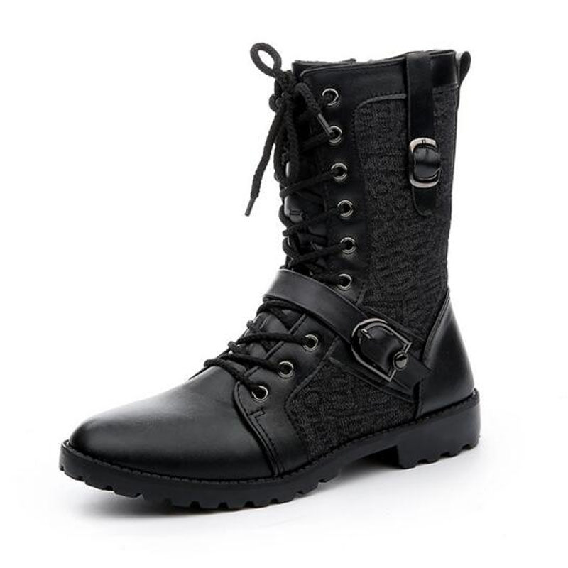 Online Get Cheap Black Combat Boots for Men -Aliexpress.com ...