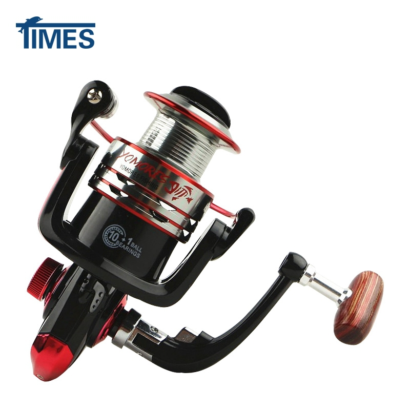 Fishing Reel MH Series 1000-7000 10+1BB 5.1/5.2:1 Spinning Reel Metal Spool Handle Cost Effective Fishing Tackle Tools(China (Mainland))