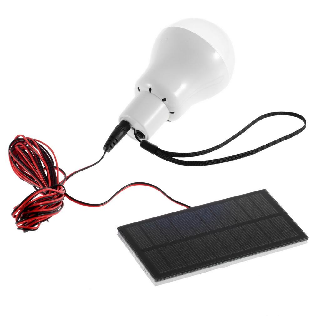 Outdoor/Indoor Solar Powered led Lighting System Light Lamp 1 Bulb solar panel Low-power camp nightfair travel used 5-6h(China (Mainland))