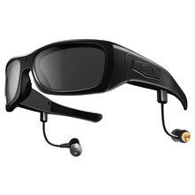 Video Camera Glasses and Music with 3d Bluetooth Wireless Glasses for iOS/Andriod