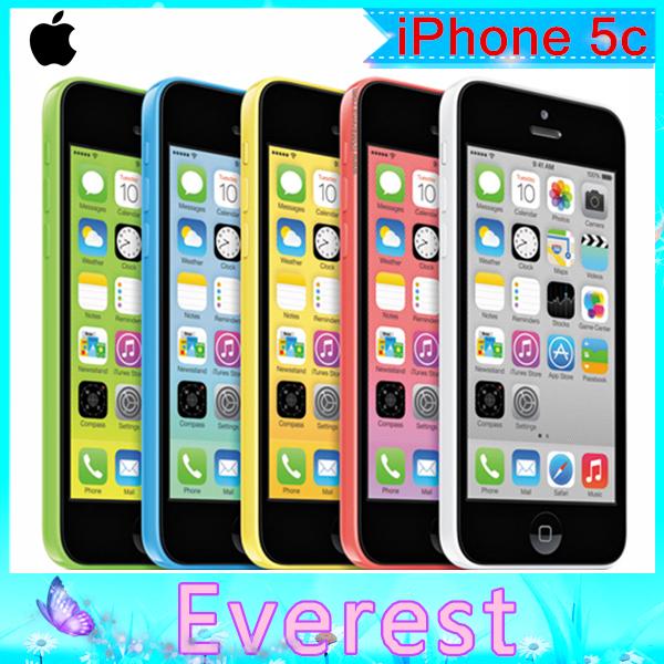 Apple iPhone 5C 32GB Original Dual Core IOS 8.3 WIFI GPS 8MP TouchScreen Unlocked Refurbished Smartphone FreeShipping(China (Mainland))