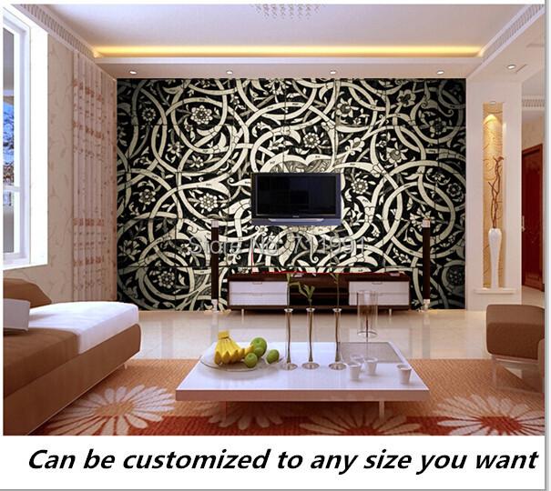 Popular oriental wall murals buy cheap oriental wall for Custom mural cost