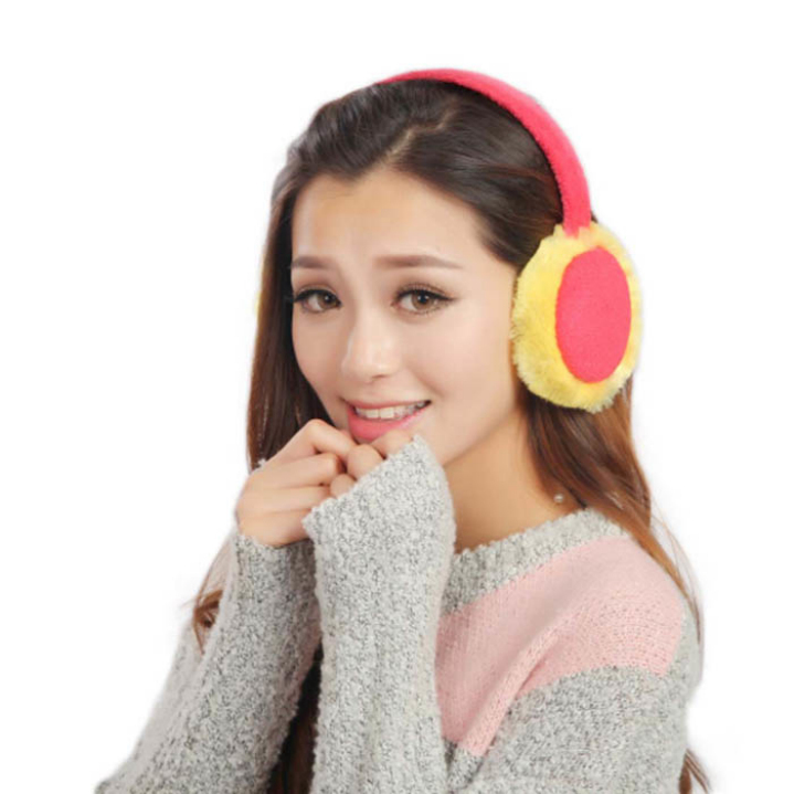 Fashion Women Winter Earmuffs Candy Color Ear Muffs Earlap Warmer Amazing New Arrival(China (Mainland))