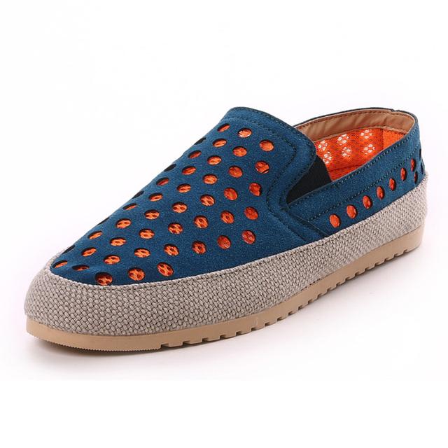 Новый 2016 весна лето мужской обуви свободного покроя на открытом воздухе обувь для ...