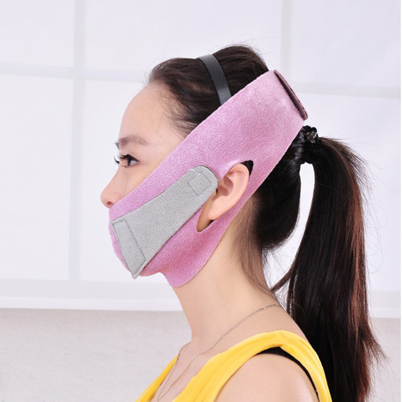 Slim Face Mask Thin Face-lift Bandage Care Correction Belt Slimming Band Facial Shaper Massage Tool Reduce Double Chin Burn Fat(China (Mainland))