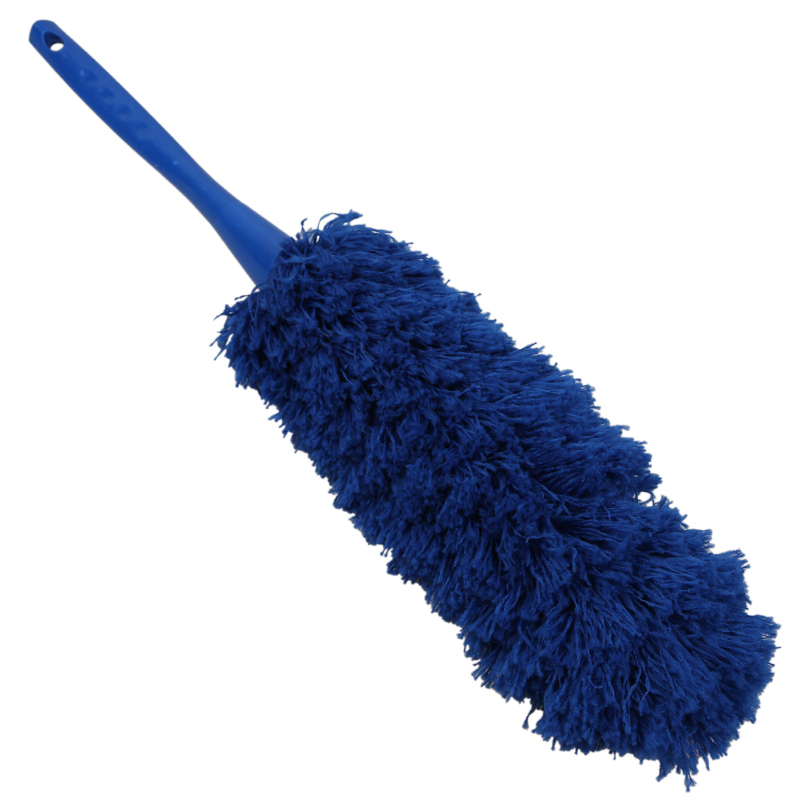 1piece new soft navy blue flexible durable microfiber and plastic cleaning duster anti static. Black Bedroom Furniture Sets. Home Design Ideas