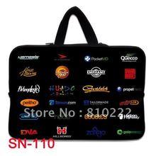 "14"" inch many websites logo waterproof notebook laptop sleeve case bag-Handle-110h(China (Mainland))"