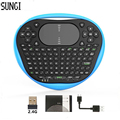 Sungi T8 Wireless Mini Keyboard 2 4G Air Fly Mouse Silicone Keyboard Muti touch Touchpad For