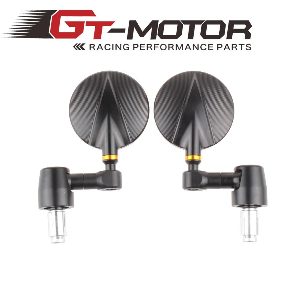 GT Motor - Brand new Spy R80 Bar End motorcycle rear side Mirror for honda yamaha kawasaki<br><br>Aliexpress