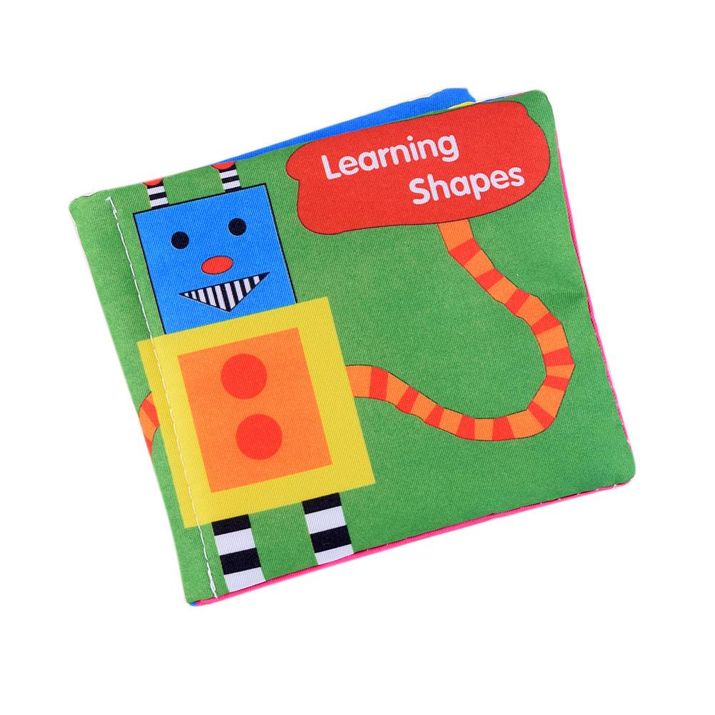 Toys For Boys Book : New baby cloth cognize book animal picture kid