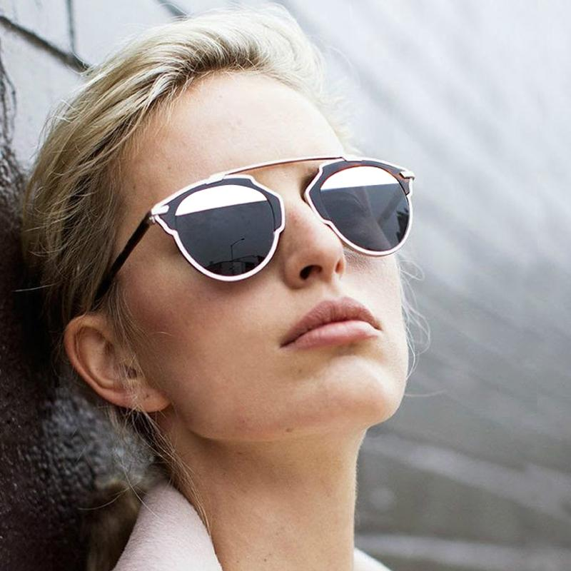 So Real Metal Frame Sunglasses Women Original Brand Designer Sun Glasses Vintage Sunglass Cat Eye Glasses Oculos De Sol AB4040(China (Mainland))