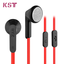 Original BYZ S600 3.5mm Jack In-Ear Earphones Headphones Headset with Microphone for Mobile Phone Computer Mp3/Mp4