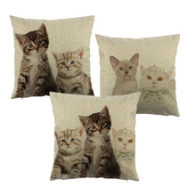 Lovely Cat cushion cover
