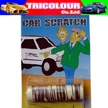 Wholesale Halloween Car scratch stickers Shock toys funny toys tricky toy 100pcs/lot #LS117(China (Mainland))