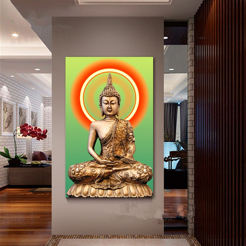 Abstract-Buddha-Canvas-Oil-Painting-Buda-Wall-Picture-For-Living-Room-Cuadros-Decoration-Modern-Printing-Unframed_