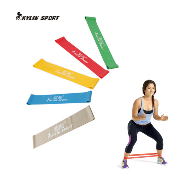 Five Colors Available Assist Resistance Bands Crossfit