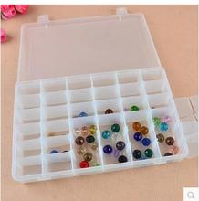 Buy High thicken large size 36 grid storage box transparent portable household sundry plastic Storage Boxes Bins for $11.63 in AliExpress store
