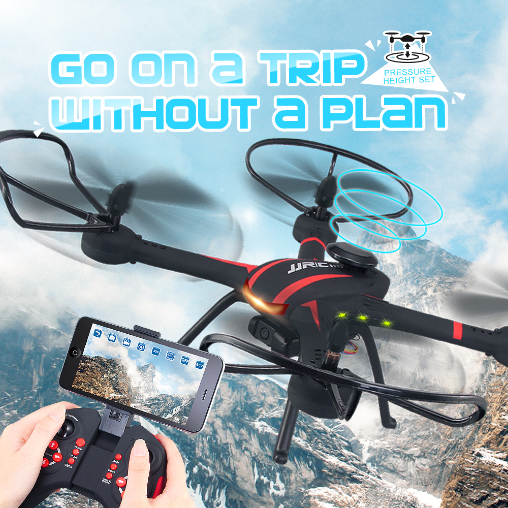 JJRC H11WH Drone With Camera Wifi Real Time Video Toy Fixed High Hover Rc Quadcopter Fpv Drone Flying Camera Helicopter Vs X5HW(China (Mainland))