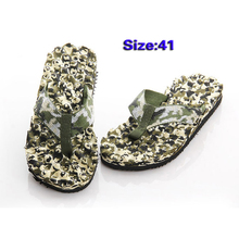 IMC Mens Round Toe Camouflage Pattern Beach Shoes Flip-flops(China (Mainland))