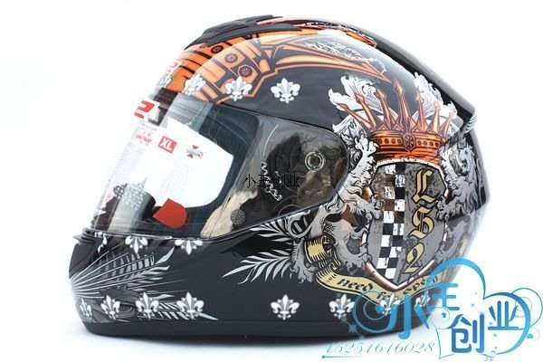 Freeshipping BCM001# BEON B-500 Classic Full Face Helmet Winter Helmet Racing Helmet International Version Motorcycle HelmetsN2