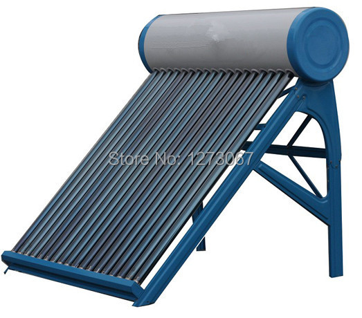 58*1800mm 24 Tubes Generous Blue Solar Collector Non-pressure Family Solar Water Heater(China (Mainland))