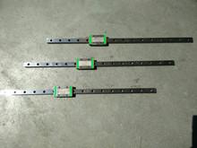 Free Shipping Kossel Mini 3D MGN12 12mm miniature linear slide = 6pcs 12mm L-600mm rail+6pcs MGN12H carriage for X Y Z Axies