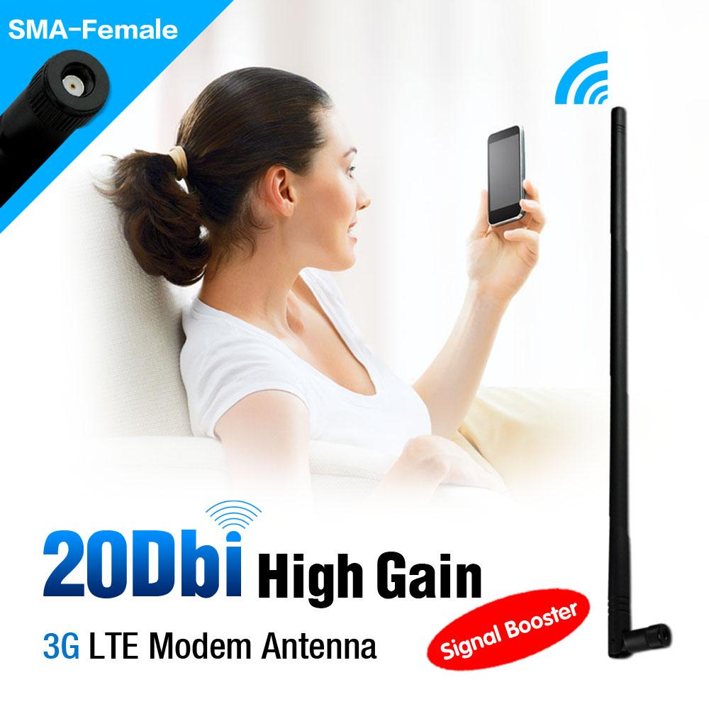 3g antenna 20dBi 3G WIFI Directional Antenna Aerial WLAN RP-SMA ForModem Router PCI Card EL0306(China (Mainland))