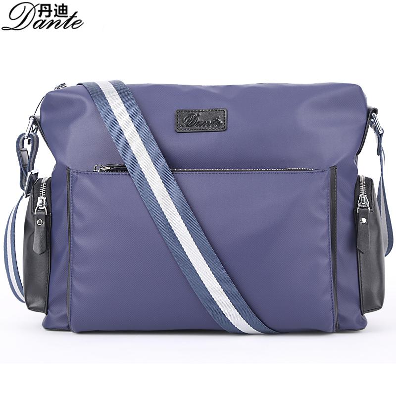Free shipping Men's Bag New Panelled Handbag Leisure ShoulderBag Men's Oxford & Leather Shoulderbag Large capacity leisure Bag(China (Mainland))