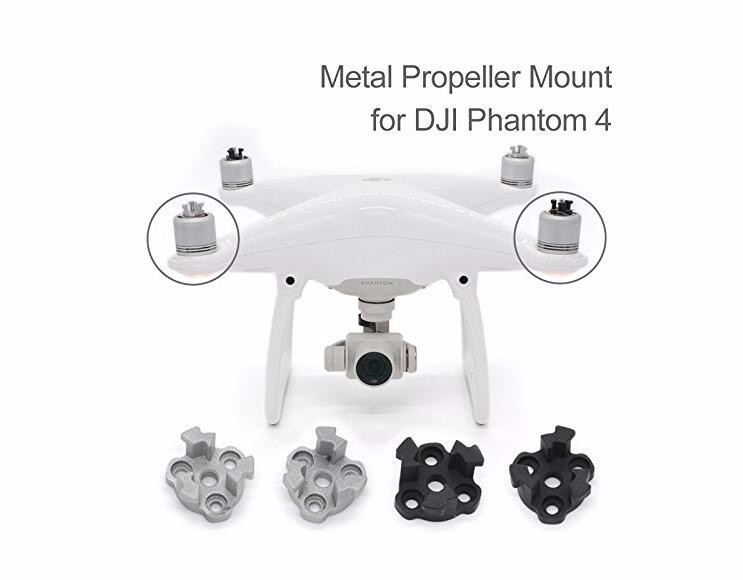 4PCS Aerospace Aluminum Alloy Propeller Fixing Mounting Spare Parts Base for DJI Phantom 4 CW CCW