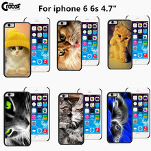 New Funny Cat Case Cute Animal Grumpy Cat Custom Printed Mobile Cases Cover for iphone 5 5s 6s 6s plus Phone Accessories