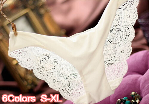 Women Lace Sexy Panties,Ultra-Thin Transparent Flower Embroidered Patterned,Plus Size Underwear Seamless Briefs 6 Colors S-XL(China (Mainland))