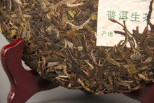Promotions Wholesale Yunnan Menghai tea king shen puer early Spring seven cake tea Puer Tea 357g