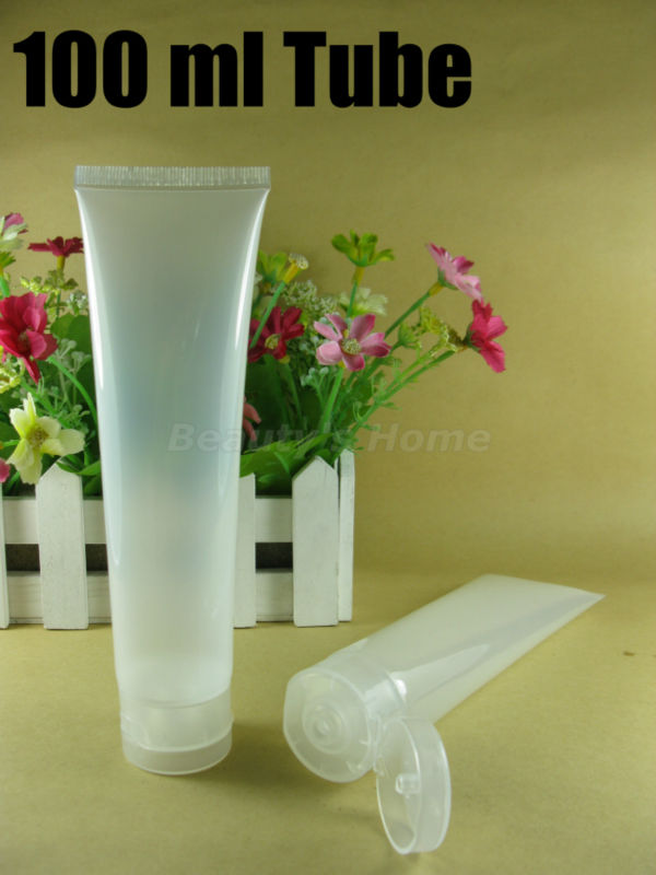100ml cosmetic tube mildy wash soft butter / handcream empty make #1857 - Packing Supplier(Bottles and Jars store)