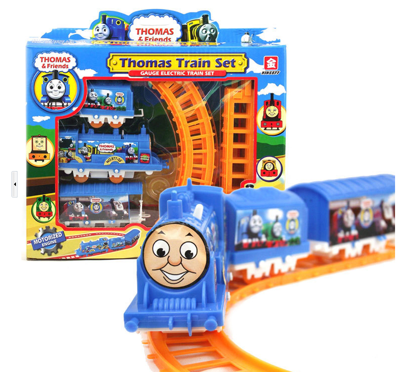 Free shipping Thomas electric train eight rail cars toys for children classic toys lada(China (Mainland))