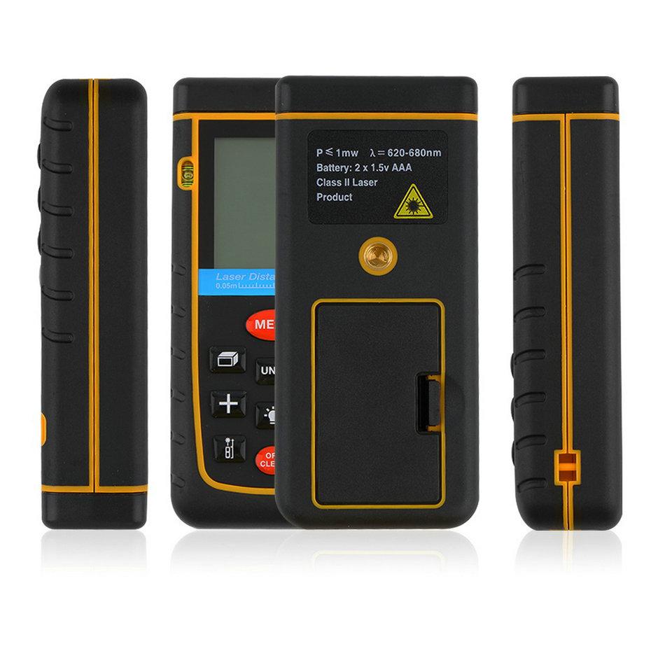 High Quality 1pc 100M/328ft/3937in Mini Digital Laser Distance Meter Range Finder Measure