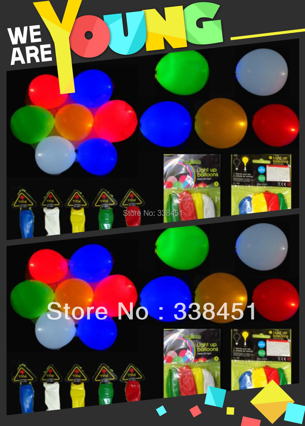 Free shipping 5pcs/lot factory cheap price led balloon mixture colour,led ballon light(China (Mainland))