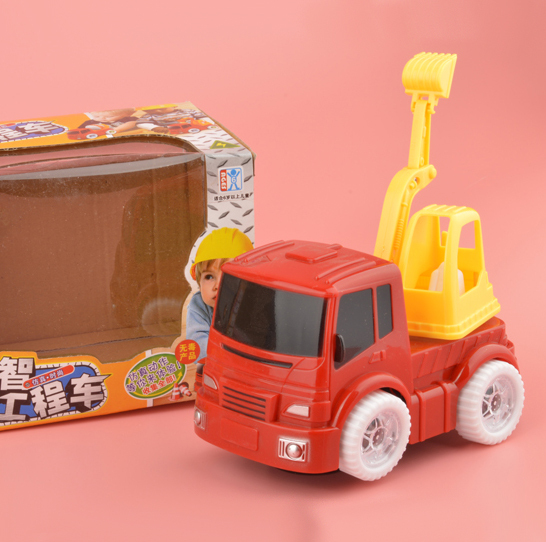 Wholesale Electric Engineering Truck Car Toys For Children Puzzle Toys Best Gift For Kids(China (Mainland))
