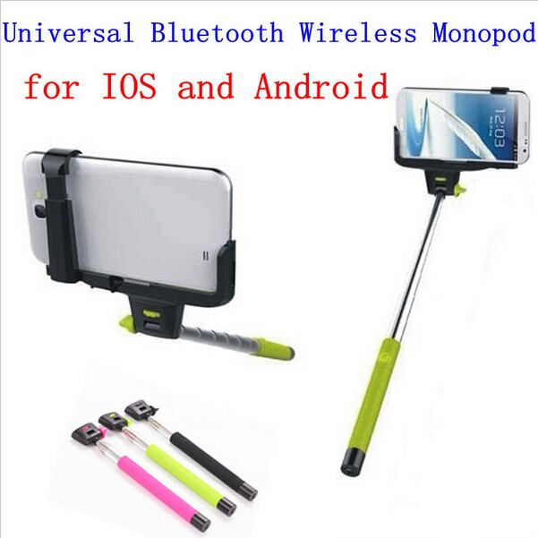 Hot DHL 30pcs Z07 5 Universal Bluetooth Wireless Monopod Handheld Mobile Phone Holder for ios android