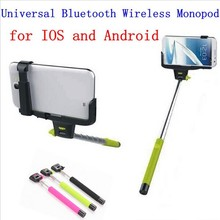 DHL  Z07-5 Mini Self-Shooting 7 Sections Foldable Wireless Mobile Phone Monopod Suits for ios android Smartphone Holder 10Pcs