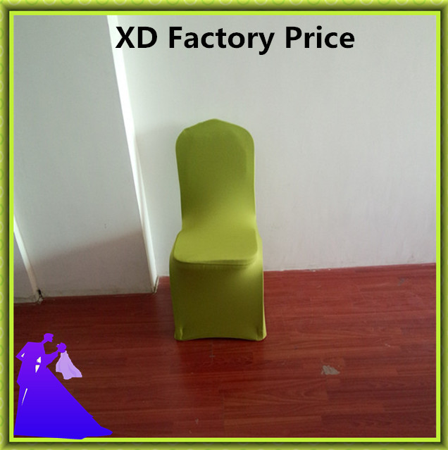 spandex / polyester grass green chair covers / banquet chair covers(China (Mainland))